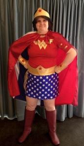 Corrina Lawson as Wonder Woman