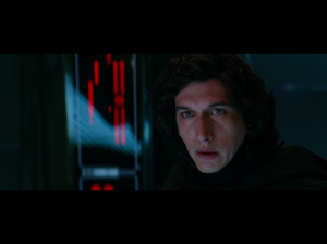 Kylo Ren from the film Star Wars: The Force Awakens