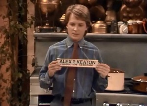 Alex P. Keaton from Family Ties