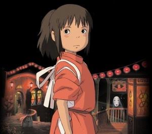 Chihiro Ogino (Sen) from Spirited Away