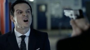 Moriarty from the TV series Sherlock