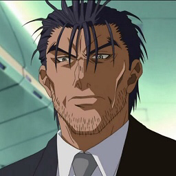 Gayron from the anime Full Metal Panic