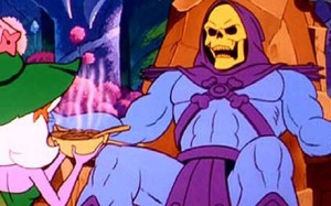 Skeletor from the animated series He-Man