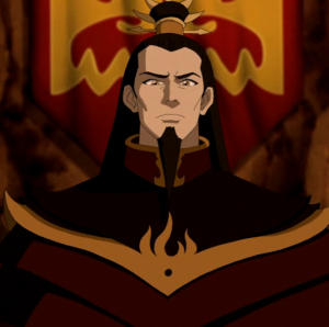 Fire Lord Ozai from the animated series Avatar The Last Airbender