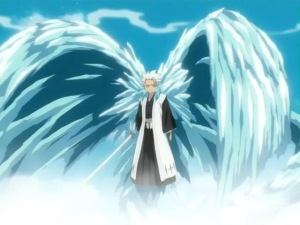 Hitsugaya from the anime Bleach