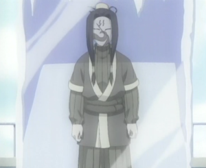 Haku from the anime series Naruto