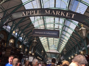 Apple Market in Covent Garden