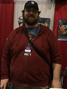 Adam Bray at Motor City Comic Con in 2016