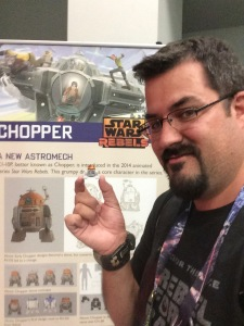 Ryan with Traveling Chopper at SWCA April 2015