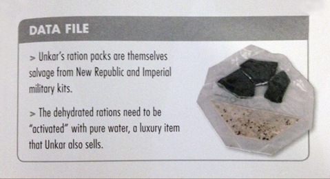 Ration Pack from The Force Awakens Visual Guide credit DK Books/Lucasfilm