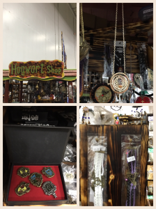 Time turners and other Harry Potter merchandise for sale