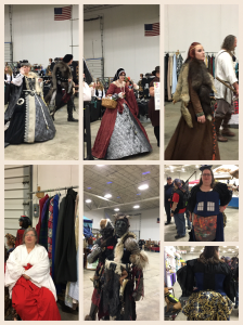 Some of the fabulous outfits worn by attendees