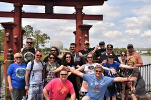 Skywalking Through Neverland meet up at EPCOT picture by Brian Sims