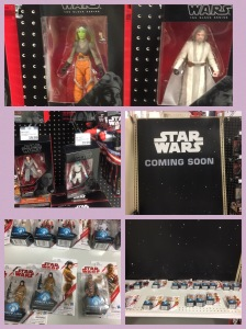 A few of the new Star Wars Figures available at my local Meijer