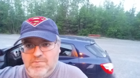 Woody showing off his cool Superman baseball Cap via Twitter