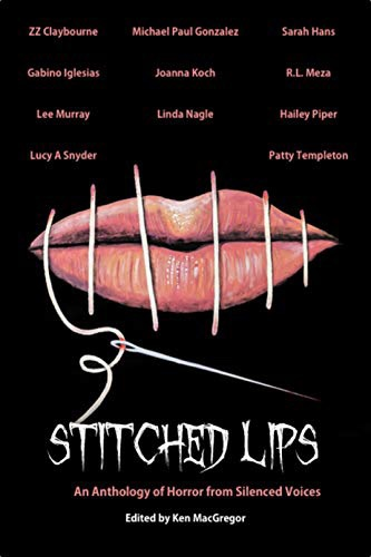 Cover for Anthology Stitched Lips